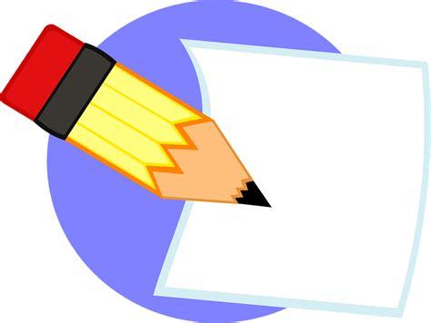 Kertas Cliparts Lamore Design 8pcs free vector graphic write pencil paper blank draft free image on pixabay 154873