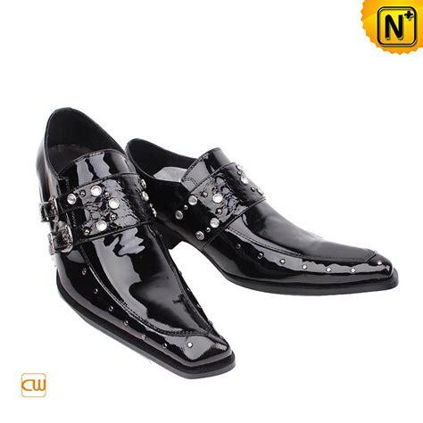 s fashion black patent leather dress shoes cw701107