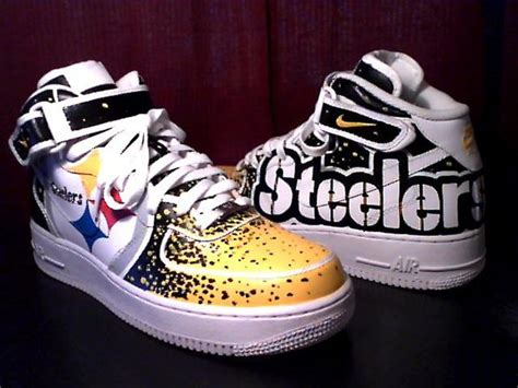pittsburgh steelers sneakers steelers pittsburgh steelers custom shoes nike air