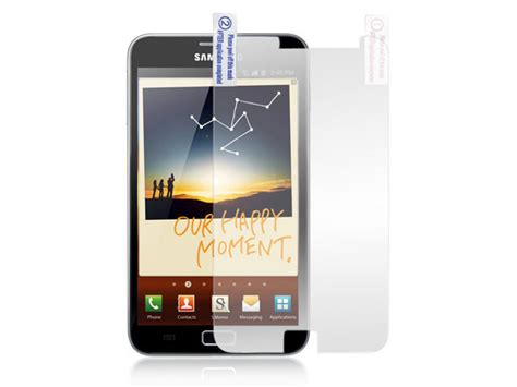 Mirror Galaxy Note 2 mirror screenprotector samsung galaxy note n7000