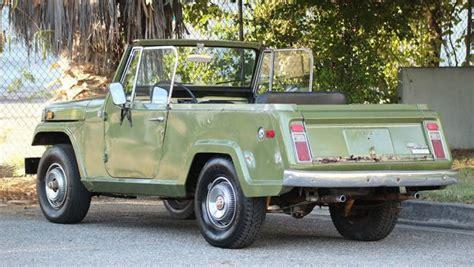 1970 jeep commando interior ready to drive 1970 jeepster commando