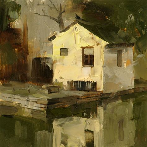 artist house qiang huang a daily painter quot a small house quot sold