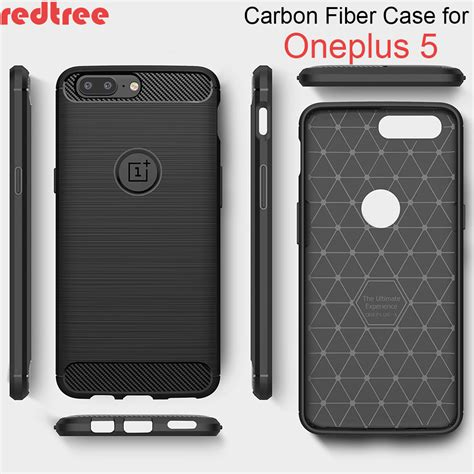 Oneplus 3 Carbon Fiber Brushed Soft Casing Silikon Back Cover oneplus 5 luxury cover protective carbon fiber brushed soft tpu for one plus 5
