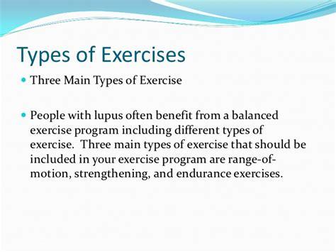 sle of exercise lupus treatment and rehabilitation