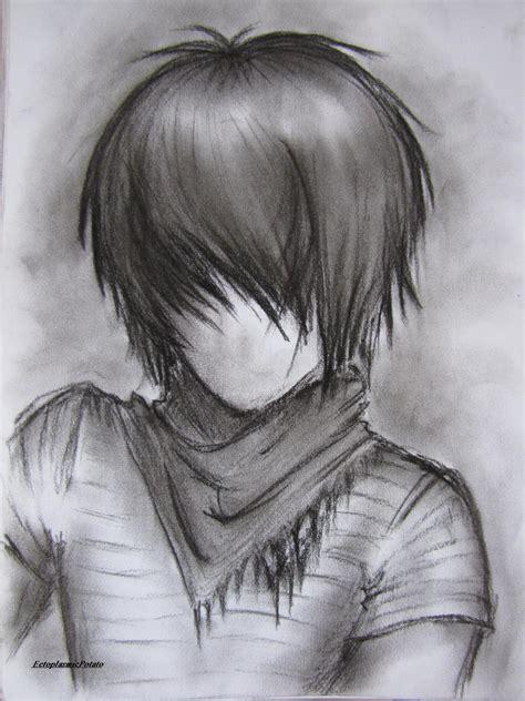 faceless emo guy by ectoplasmicpotato on deviantart
