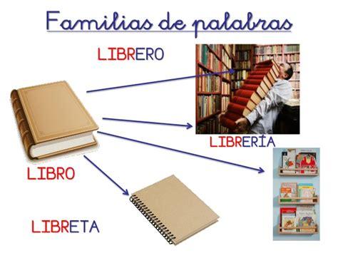 librero familia de palabras familia de palabras