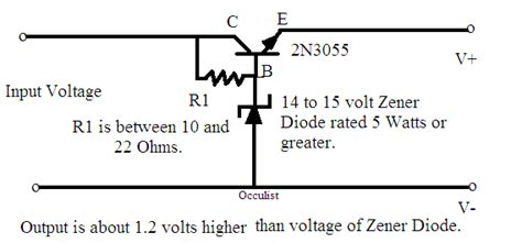 zener diode regulator circuit calculation the output is not 1 2v higher than the voltage of the zener diode