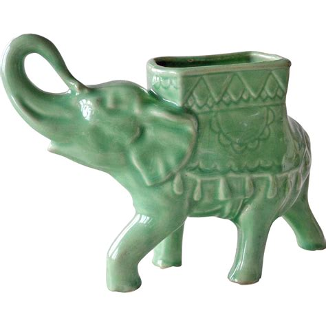 Vintage Elephant Planter by 5585 1l Jpg