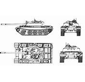 T 55 Main Battle Tank Technical Data Sheet Specifications