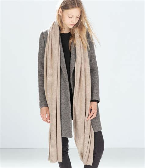 Zeera Khasmeer image 2 of feel scarf from zara wish list