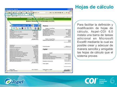 formato de hoja de calculo de isr aspel coi sistema de contabilidad