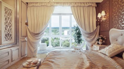 swag curtains for bedroom traditional neutral curtain swags olpos design