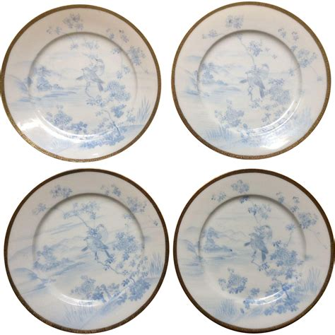 beautiful plates eggshell porcelain plates beautiful vintage asian signed