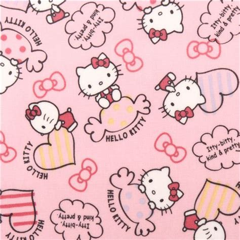 Wallpaper Sticker Roll Hello Pink 5m Light Pink Hello Sweet Bow Sanrio Laminate