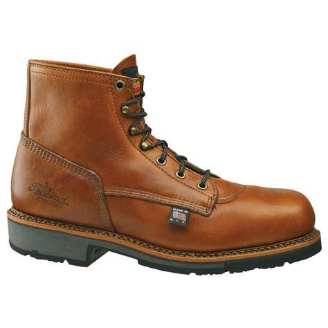 thorogood boots thorogood 174 6 quot american heritage steel toe boots 158577