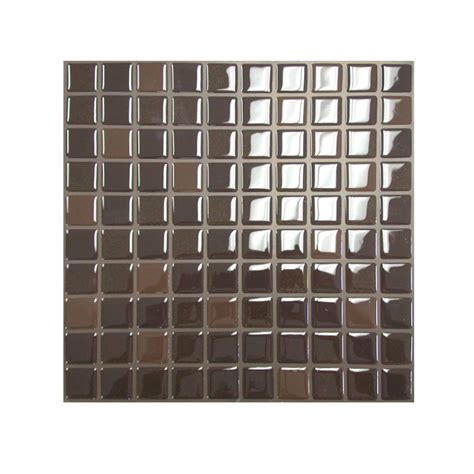 smart tiles 9 85 in x 9 85 in multi pack mosaic adhesive