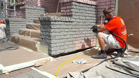 exterior brick stain  dover grey youtube