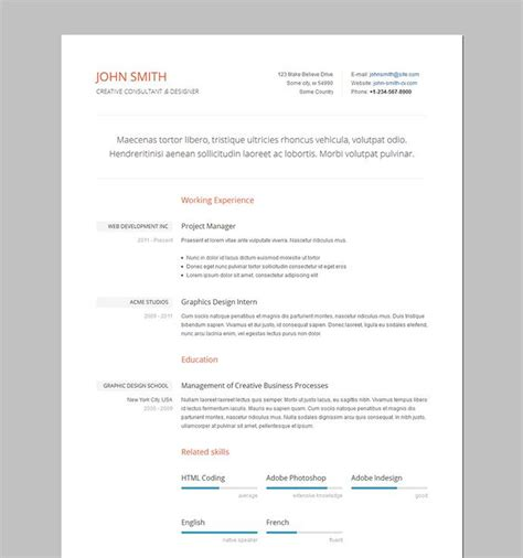 clear cv template formal resume cv templates resume layout