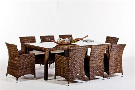 Rattan Gartenmobel Braun Rattan Gartenm 246 Bel Rattan Tische Und St 252 Hle Nairobi Dining