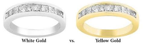 yellow gold vs white gold band jewelry store san diego