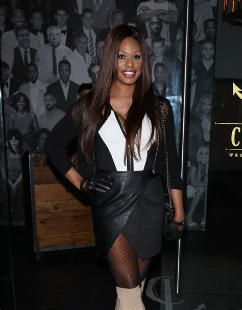 laverne cox laverne cox leaves catch la restaurant in west hollywood