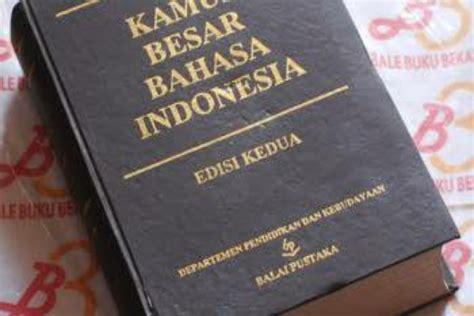 Kamus Bahasa Indonesia Terbaru 1995 sejarah perkembangan kamus besar bahasa indonesia kbbi portalsatu