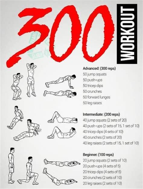 fit 300 workout