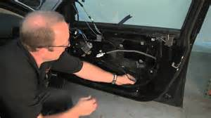 removing bmw door panel replacing window regulator