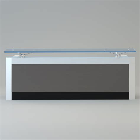 contemporary reception desk contemporary reception desk 3d model max cgtrader