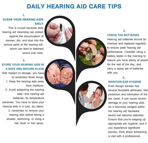 cleaning hearing aids for its long lasting performance