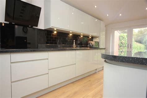 contemporary kitchen worktops white contemporary kitchen with granite worktops