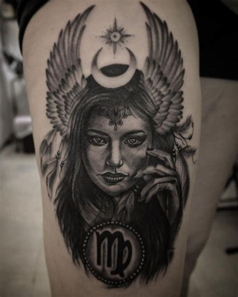 virgo tattoos ideas and designs 2017