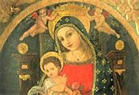 dipinti su due tavole la madonna con bambino di cascano ges 249 232 adornato di