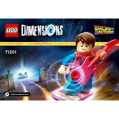 Lego 71201 Dimensions Level Pack Back To The Future lego back to the future level pack 71201 brick owl lego marketplace