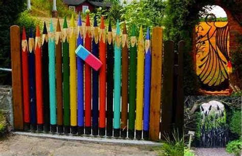 Art To Decorate Your Home 20 amazing amp unique garden gate ideas do it yourself fun