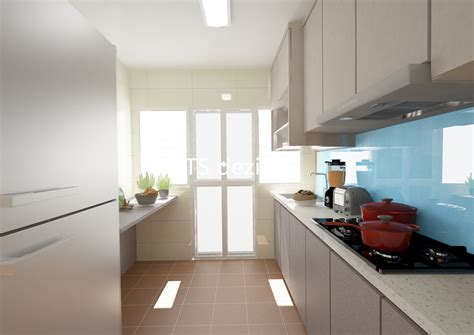 bto kitchen design ts dezign anchorvale cove hdb bto 4 room
