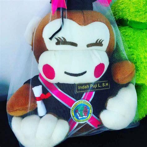 Boneka Wisuda Monyet jual boneka wisuda monyet cewek kado wisudaku