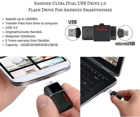 Otg Usb Drive 3 0 Sandisk 16gb sandisk ultra dual otg 16gb 32gb 64gb end 6 3 2018 5 18 pm