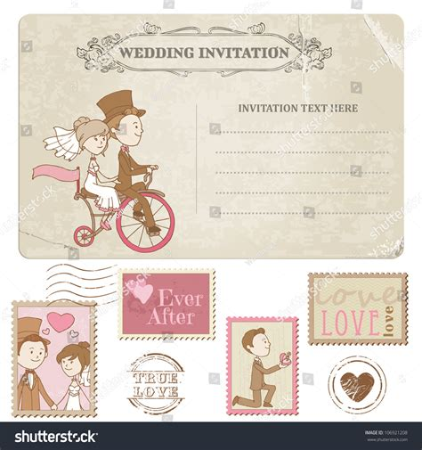 Congratulation Letter Wedding Invitation Wedding Postcard And Postage Sts For Wedding Design Invitation Congratulation Scrapbook