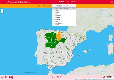 espaa para sus soberanos 8498723191 provincias de castilla y leon mapa de provincias y capitales de espaa ign 83 mapa de