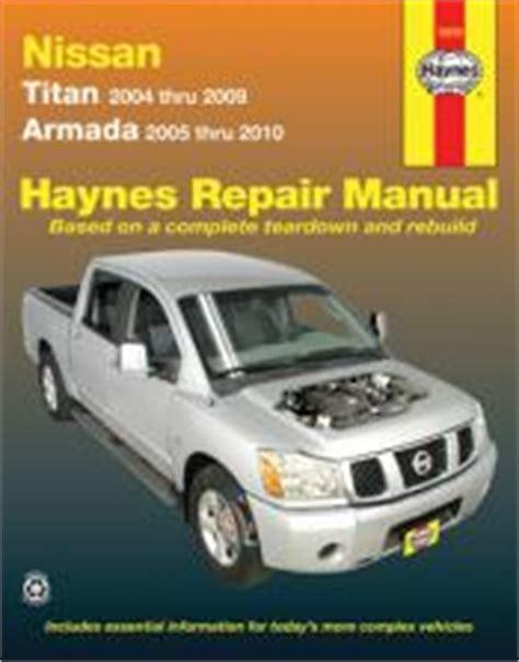 best auto repair manual 2005 nissan titan parental controls 2005 2014 nissan armada 2004 2014 titan haynes repair manual