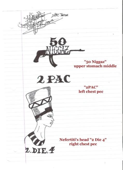 tupac s tattoos what is the meaning of 2pac s tattoos