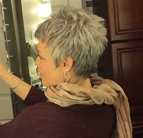 10 Pixie Hairstyles for Gray Hair   Pixie Cut 2015