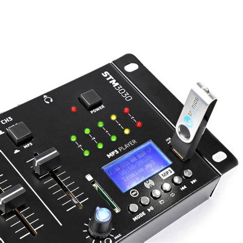 vexus stm bluetooth wireless dj mixer  channel sd usb