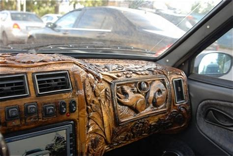 Cars With Wood Interior by Matching Maple Wooden Steering Wheel Myg37
