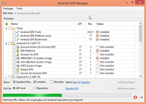 android sdk how to fix android sdk manager failing to open in android development tools bundle techathlon