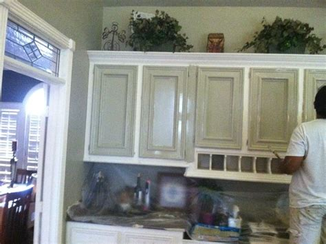 Faux Painted Kitchen Cabinets by Kitchen Faux Painted Cabinets Rustic Kitchen Houston