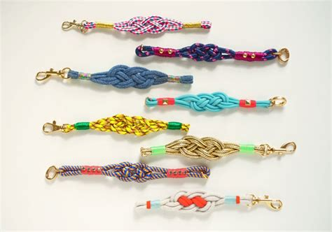 how to make rope jewelry make diy nautical knot bracelets the etsy