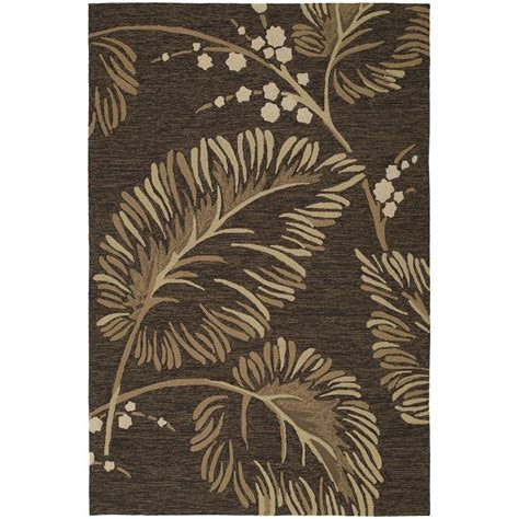 9x12 indoor outdoor area rugs kaleen home and porch palmyra chocolate 9 ft x 12 ft indoor outdoor area rug 2025 40 9x12