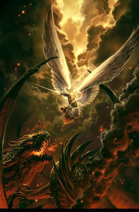the war between god s angels and the fallen angels who act